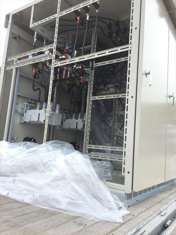メガソーラー発電所工事
